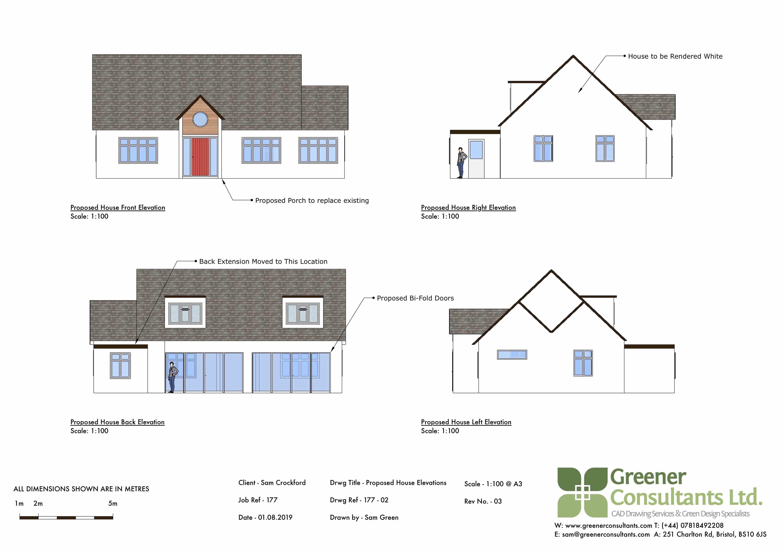 bristol extensions, bristol building amendments, bristol floor plans, buckinghamshire floor plans, buckinghamshire extensions, elevations